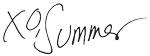 summer signature